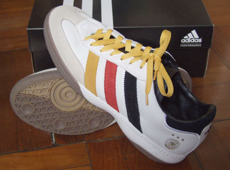 Adidas Samba Millenium Germany Indoor Soccer Shoes
